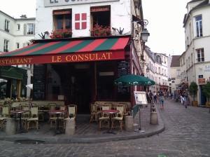 My favorite corner in Montmarte.