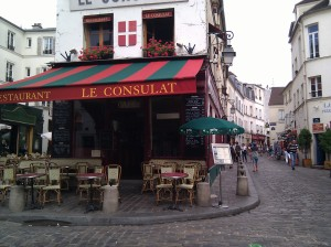My favorite corner in Montmarte.