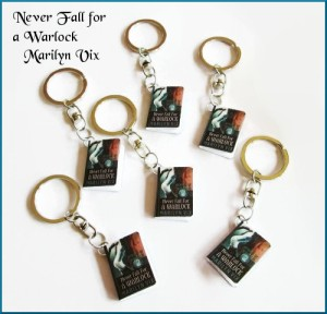 Win a Never Fall For A Warlock keychain between 5pm - 5:45 pm at the Multi-Genre/Author Book Celebration.