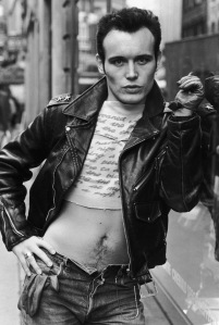 English pop singer Adam Ant