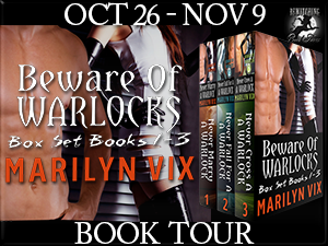 Marilyn Vix will be continuing her Beware of Warlocks Blog Tour all this week!